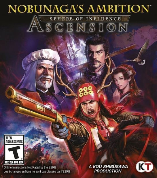 Nobunaga's Ambition Sphere of Influence Ascension Repack