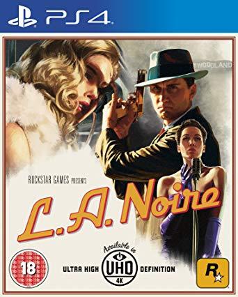 L.A. Noire PS4 PKG Download