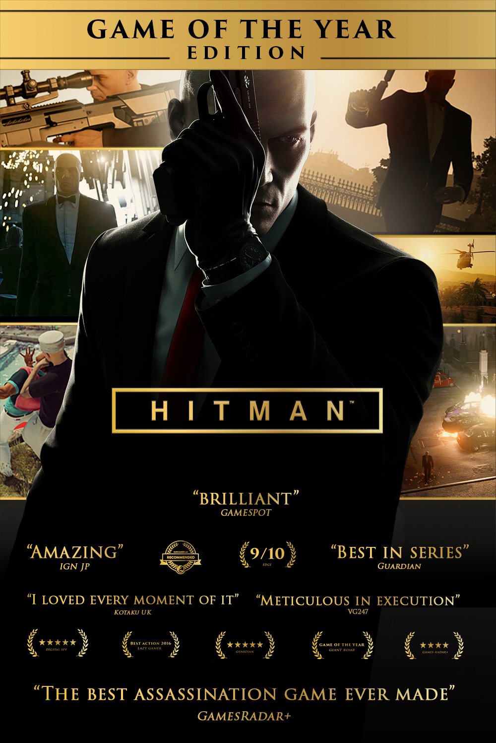 Hitman: Game of the Year Edition v1.13.2 Repack