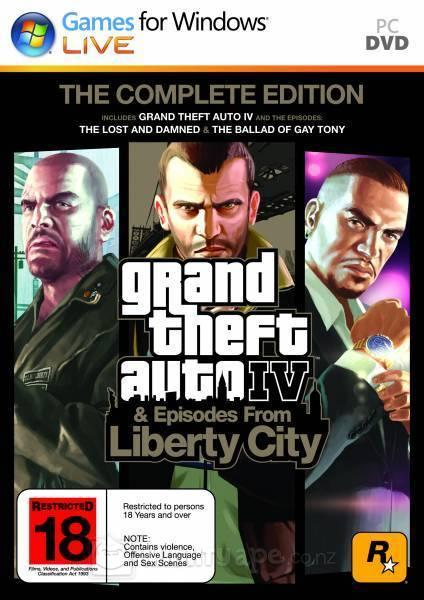 Grand Theft Auto IV The Complete Edition