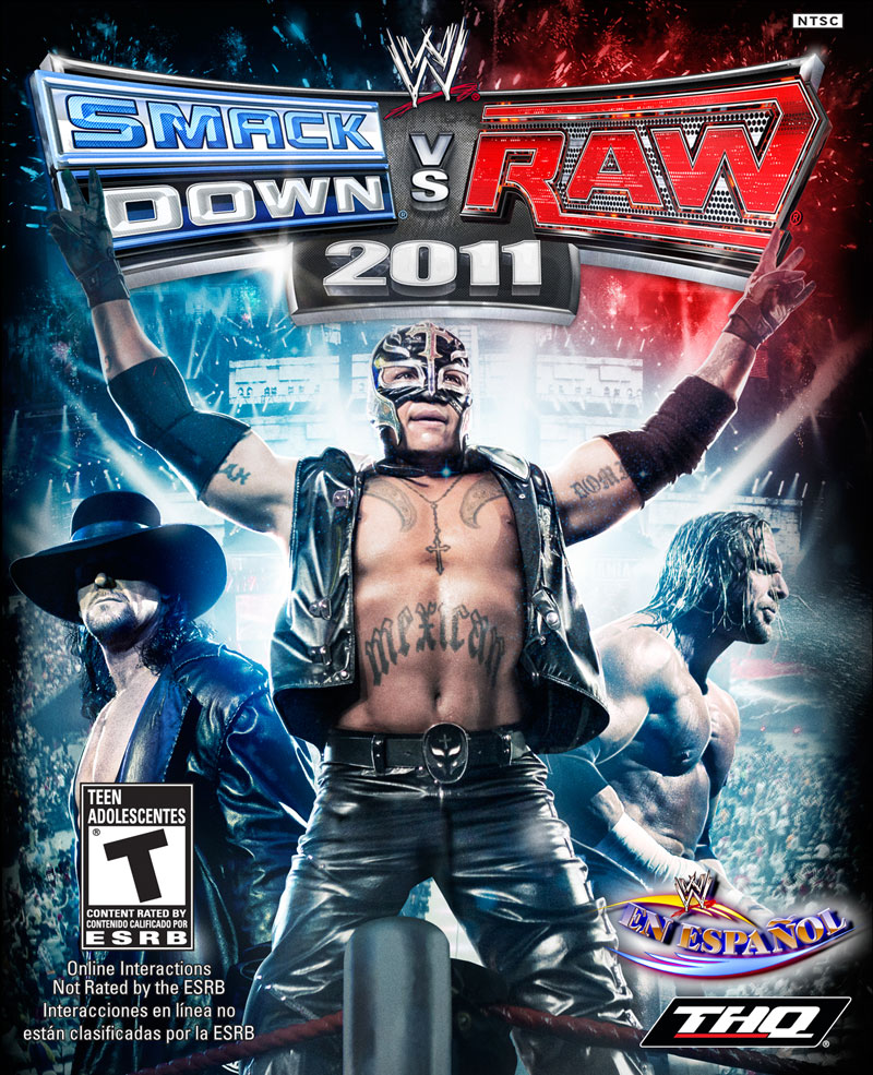 WWE SmackDown vs Raw 2011 PS2 ISO Download