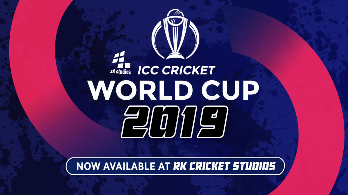 A2 Studios ICC Cricket World Cup 2019 Patch