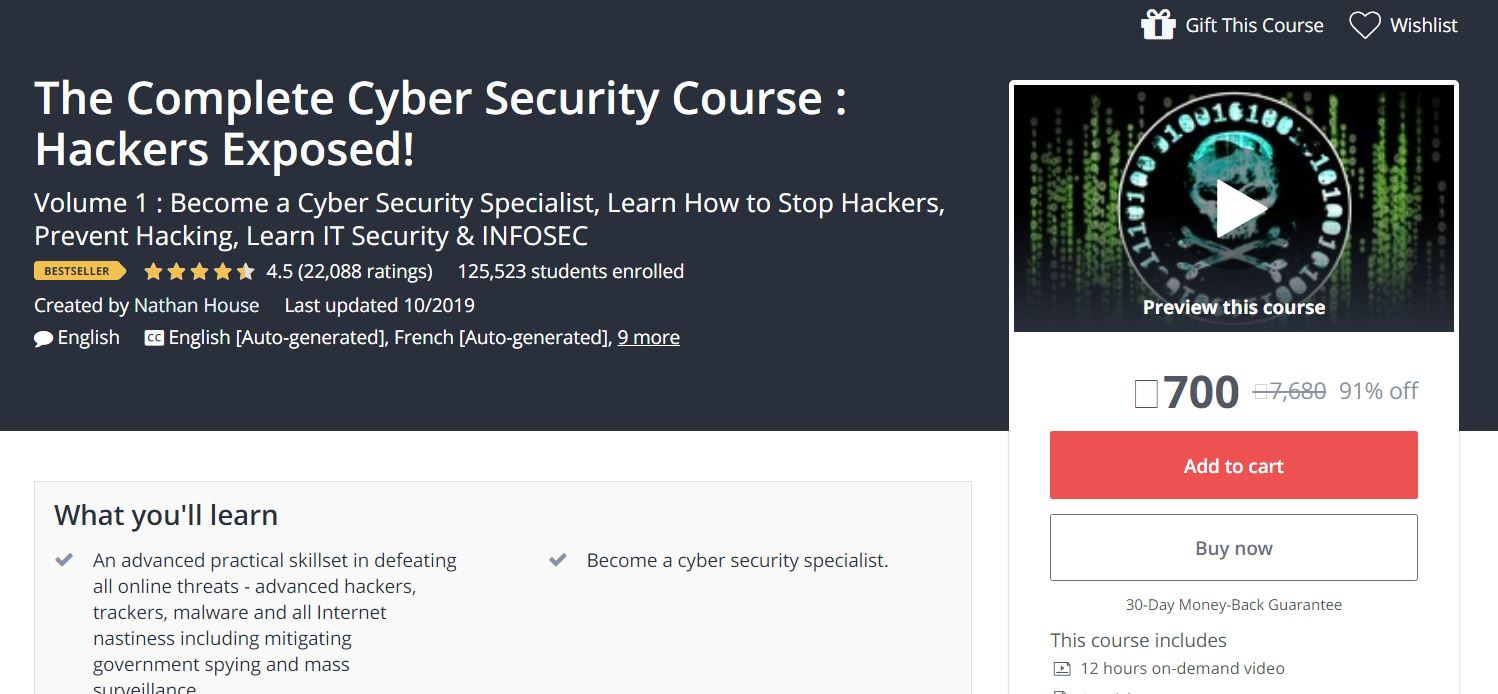 The Complete Cyber Security Course : Hackers Exposed