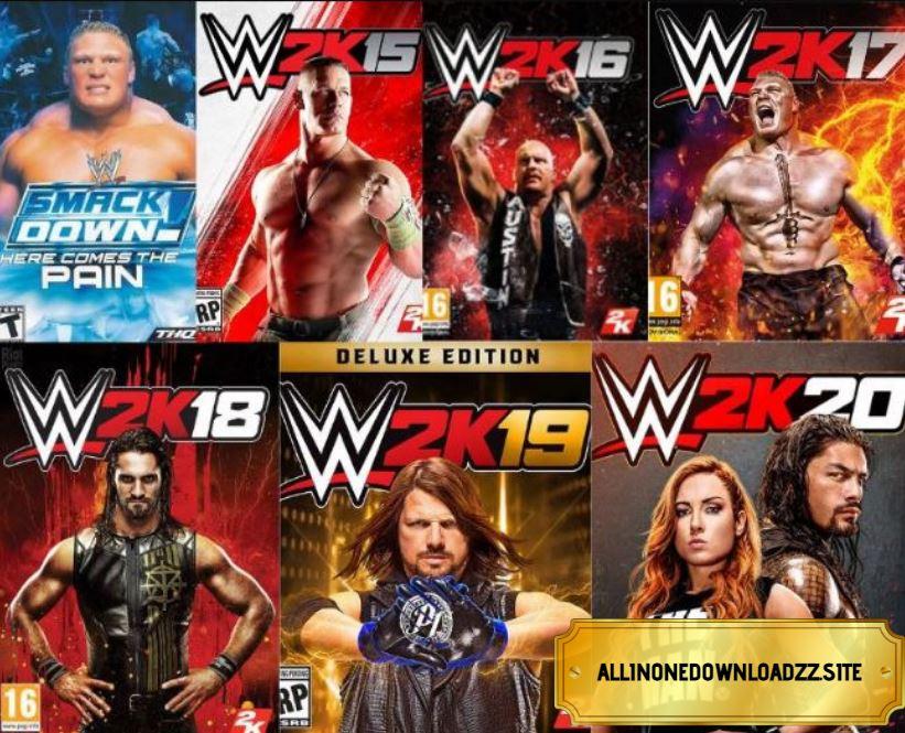 WWE 2K Anthology Repack