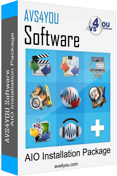 AVS4YOU AIO Software Package 4.4.2.158 Full Version