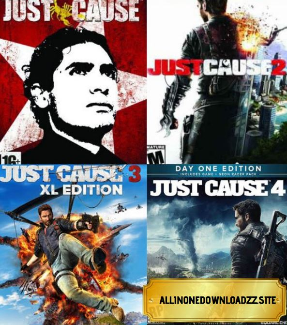 Just Cause Anthology Repack
