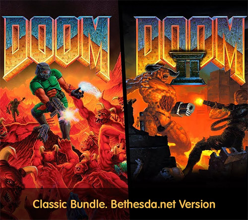 DOOM + DOOM II Classic Bundle Bethesda.net v7155 (Jan 09, 2020)