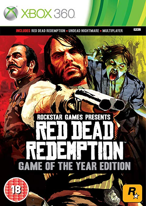 Red Dead Redemption Game of The Year Edition Xbox