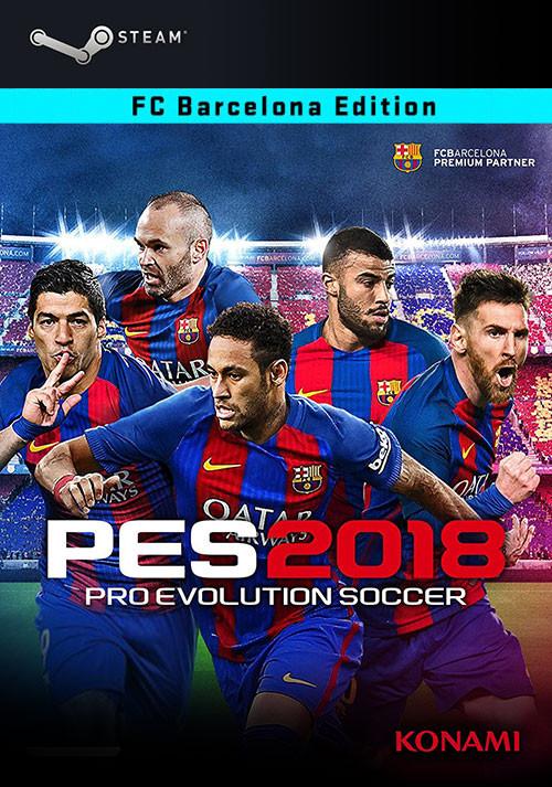 Pro Evolution Soccer 2018 FC Barcelona Edition Bundle