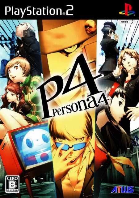 Shin Megami Tensei Persona 4 PS2 ISO