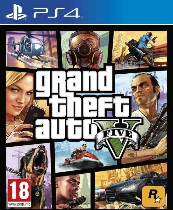 Grand Theft Auto V PS4 Download PKG