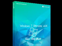 Windows 7 Ultimate Super Slim Edition (x64) June 2019