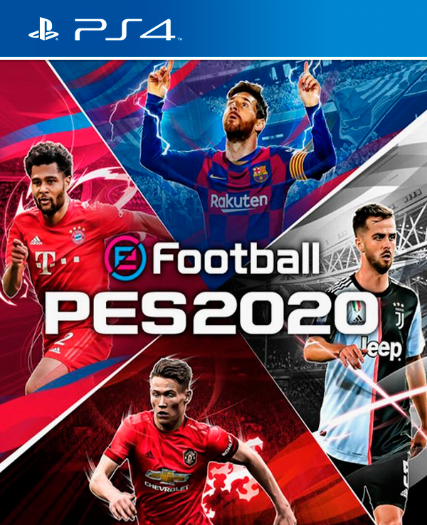 eFootball Pes 2020 PS4 Download PKG Repack