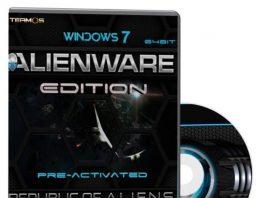 Windows 7 Blue Alienware Edition