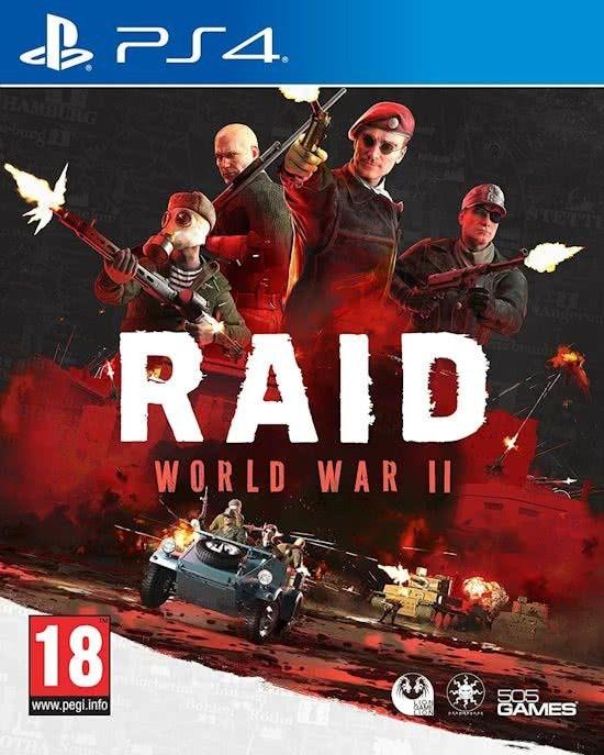 Raid World War II PS4-DUPLEX