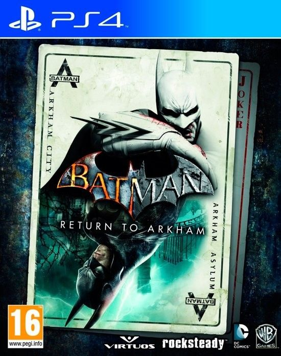 Batman Return to Arkham PS4 Download