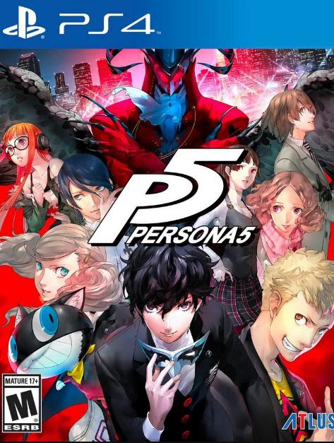Persona 5 PS4-DUPLEX
