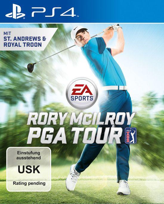 Rory McIlroy PGA Tour PS4-Playable