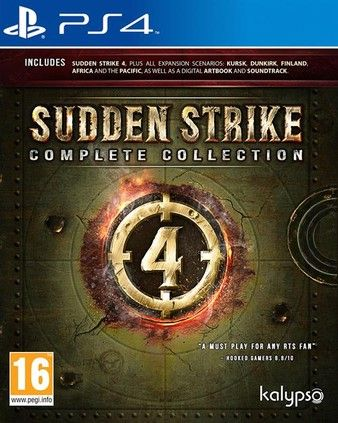 Sudden Strike 4 Complete Edition PS4-Playable