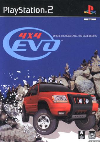 4x4 Evo PS2 ISO