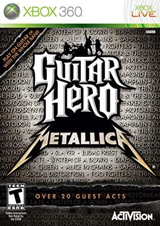 Guitar Hero Metallica XBOX360 ISO
