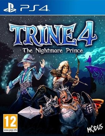 Trine 4 The Nightmare Prince PS4 PKG Download