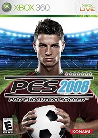 Pro Evolution Soccer 2008 XBOX 360 ISO