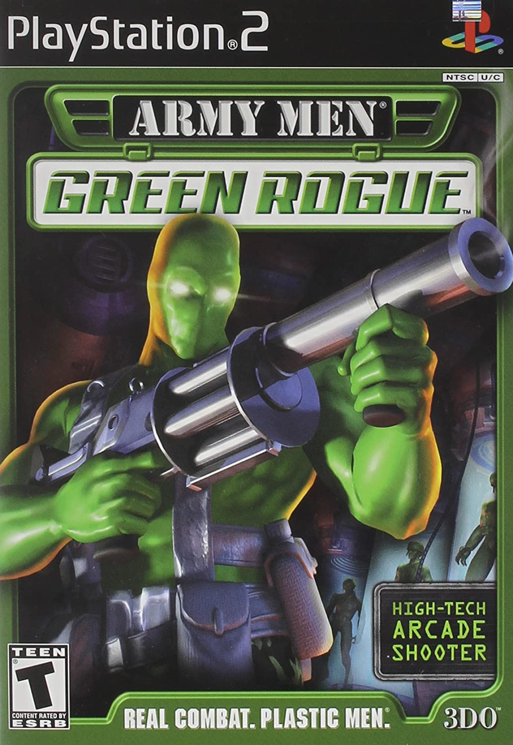 Army Men Green Rogue 2 PS2 ISO Download