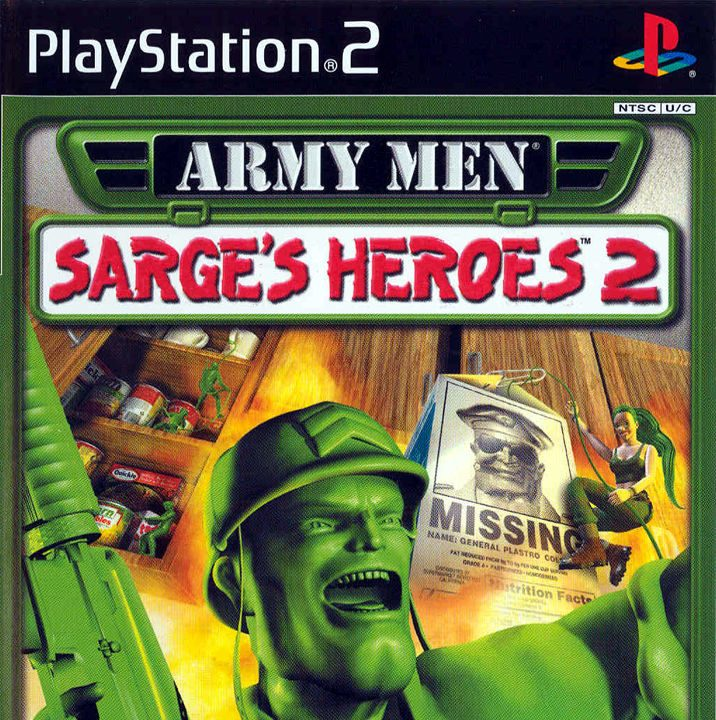 Army Men Sarge's Heroes 2 PS2 ISO Download