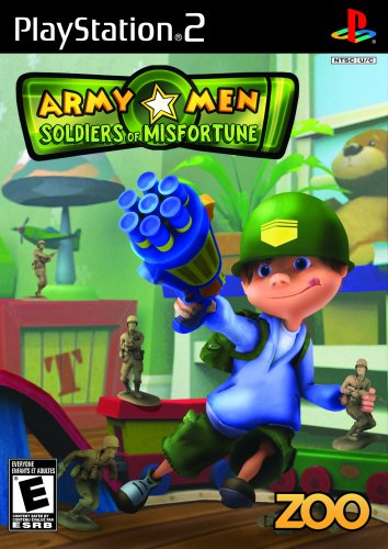 Army Men Soldiers of Misfortune PS2 ISO
