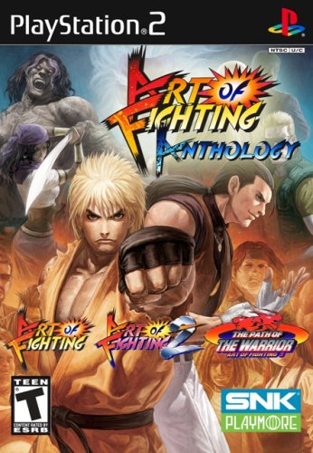 Art of Fighting Anthology PS2 ISO
