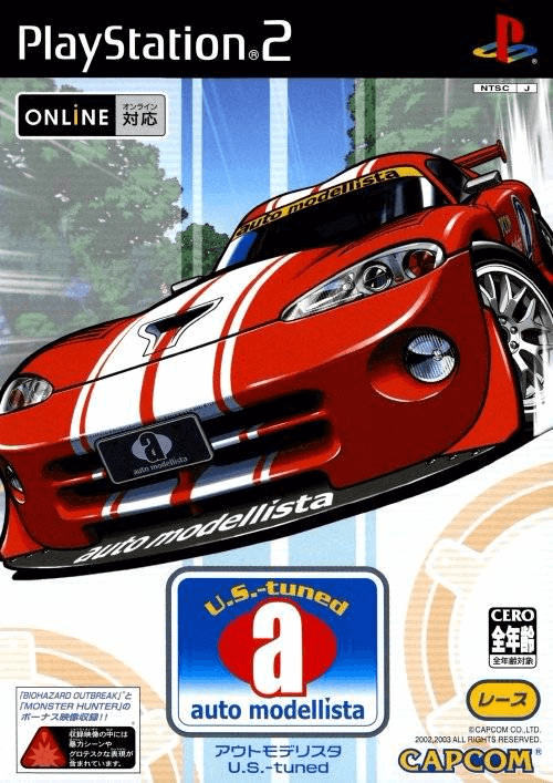 Auto Modellista PS2 ISO Download