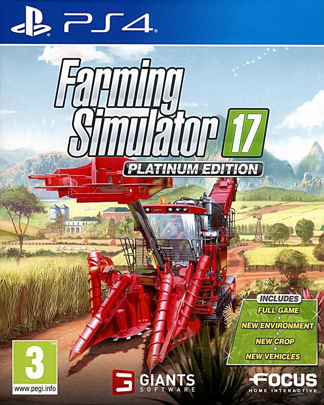 Farming Simulator 17 Platinum Edition PS4 PKG Repack Download [3.86 GB] + Update v1.54 | PS4 Games Download PKG